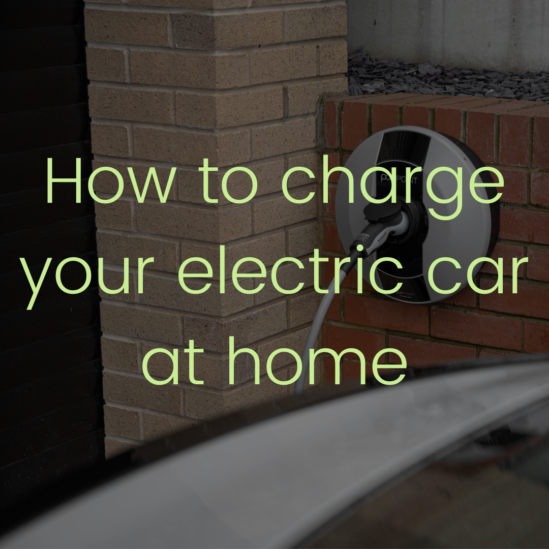 How to charge electric car at home
