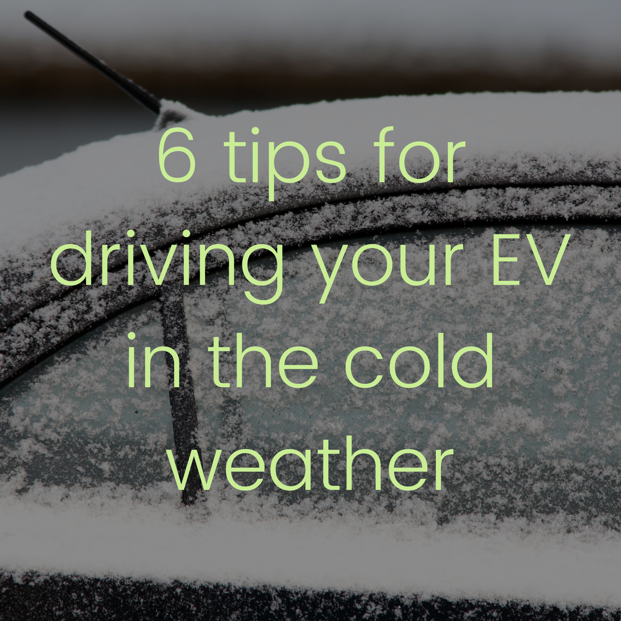 EV Cold Weather Driving